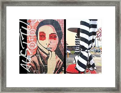 Whimsical Austin Street Photography Framed Print by Jennifer Holcombe
