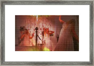 Whimsical By Mb Framed Print by Mary Bassett