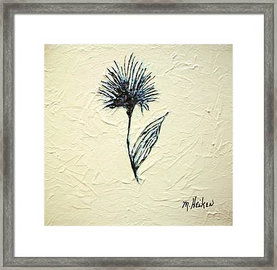 Whimsical Flower Framed Print