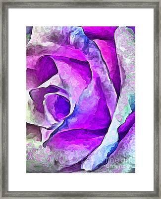 Whimsical Garden Framed Print