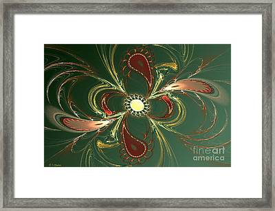 Whimsy Framed Print by Sandra Bauser Digital Art