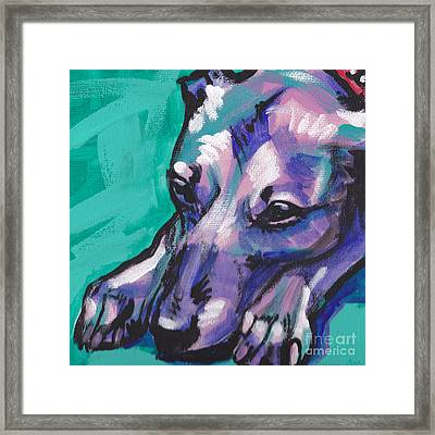Whip It Framed Print by Lea S