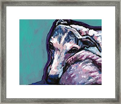 Whip It Real Good Framed Print by Lea S