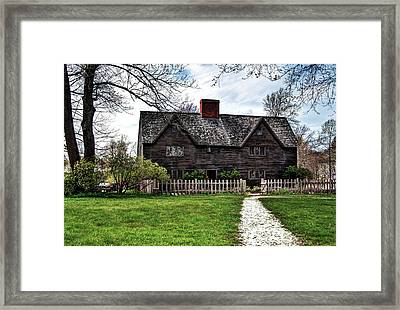 The John Whipple House In Ipswich Framed Print
