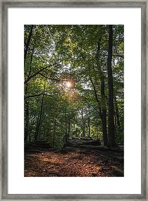 Whipps Ledges 1 Framed Print by SharaLee Art