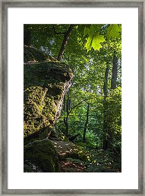 Whipps Ledges 3 Framed Print by SharaLee Art