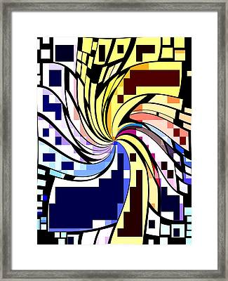 Whirl 1 Framed Print by Chris Butler