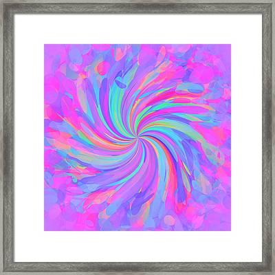 Whirl 10 Framed Print by Chris Butler