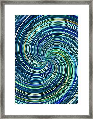 Whirl 12 Framed Print by Chris Butler