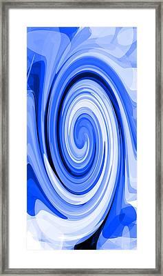 Whirl 7 Framed Print by Chris Butler