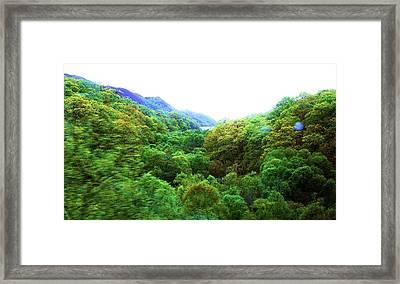 Whirl Framed Print by HweeYen Ong