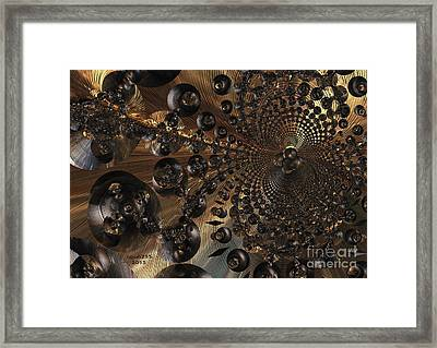 Whirl Wind Of The Universe Framed Print