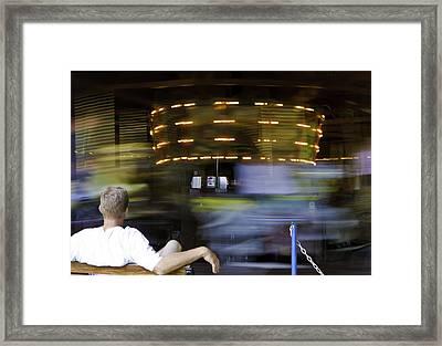 Whirligig Framed Print