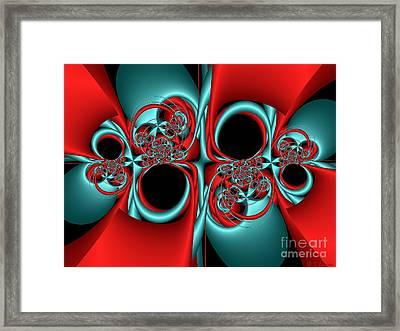 Whirligigs Framed Print by Sandra Bauser Digital Art