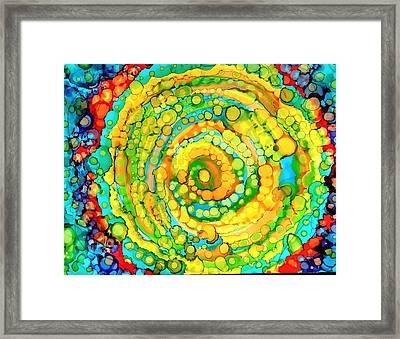Whirling Framed Print