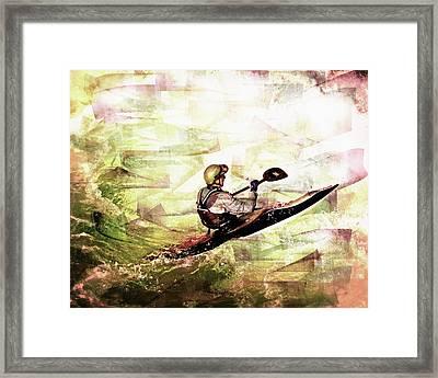 Whirlpool Kahyaker 5 Framed Print