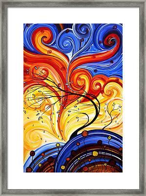 Whirlwind By Madart Framed Print