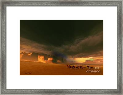 Whirlwind Framed Print by Corey Ford