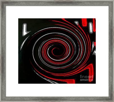 Whirlwind Framed Print by Marsha Heiken