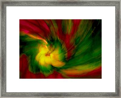 Whirlwind Passion Framed Print