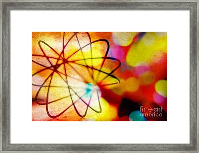Whisk ...altered Images Series Framed Print by Lynn England