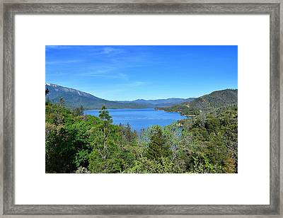 Whiskeytown Lake Framed Print