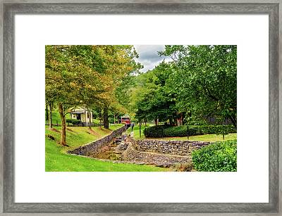 Whisky Creek At Maker's Mark  -  013_6689 Framed Print