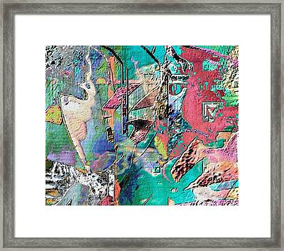 Whisp Framed Print by Dave Kwinter