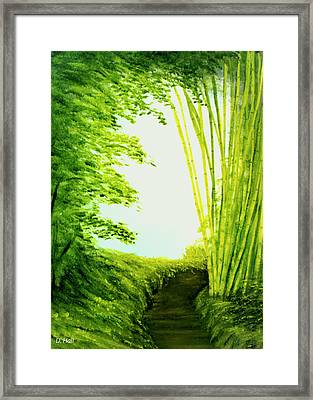 Whisper #09 Framed Print by Donald k Hall