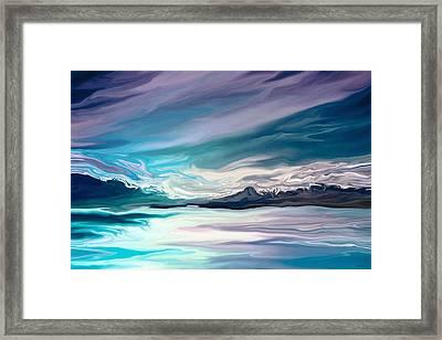Whisper Framed Print by Amanda Schambon