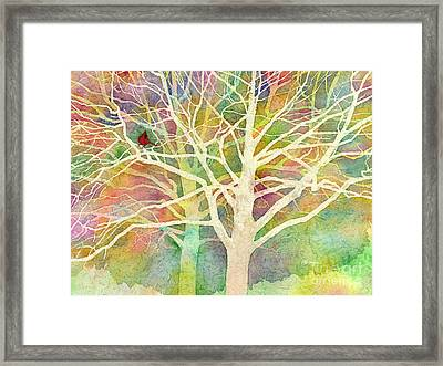 Whisper Framed Print by Hailey E Herrera