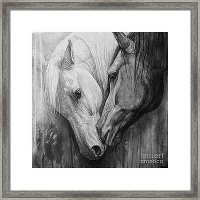 Whisper Framed Print by Silvana Gabudean