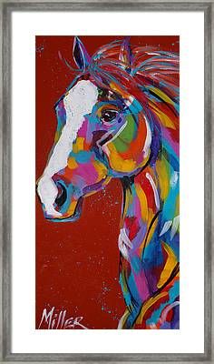 Whisper Framed Print by Tracy Miller