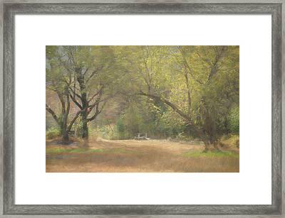 Whispering Awe Framed Print by Jim Cook