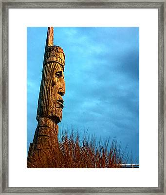 Whispering Giant Framed Print