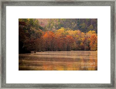Framed Print featuring the photograph Whispering Mist by Iris Greenwell