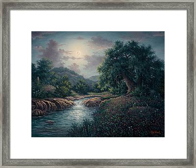 Whispering Night Framed Print by Kyle Wood