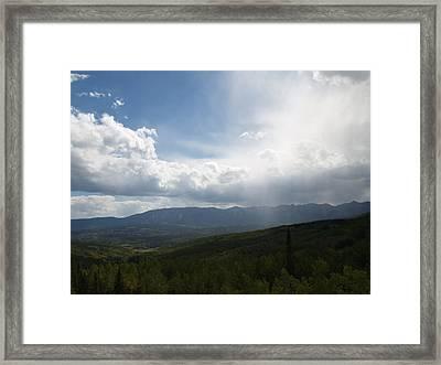 Whispering Rain Framed Print by Jessica Yudis
