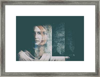 Whispering  Framed Print by Stelios Kleanthous