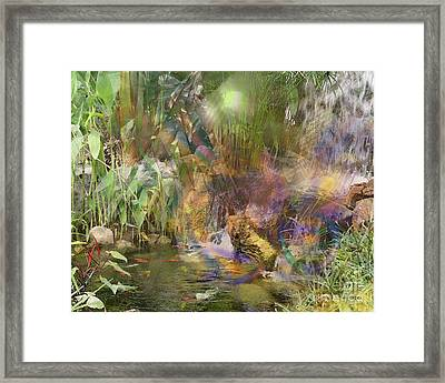 Whispering Waters Framed Print by John Beck