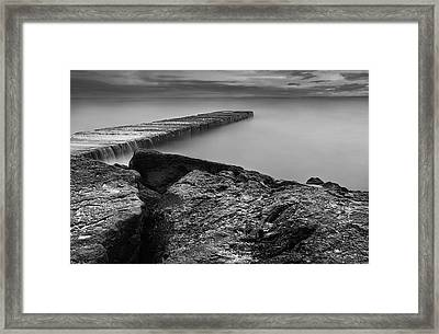 Whispering Waters Framed Print by Ryan Wyckoff