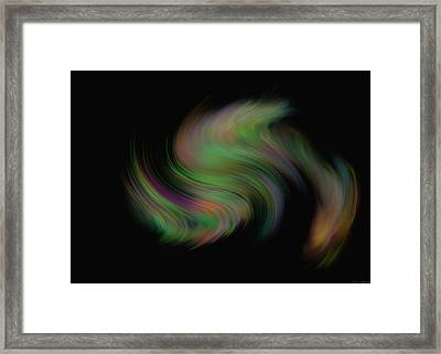 Framed Print featuring the painting Whispering Wind by Kevin Caudill