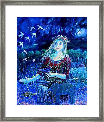 Whispers From The Future  Framed Print