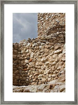Framed Print featuring the photograph Whispers From The Past by Phyllis Denton