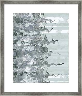 Framed Print featuring the digital art Whispers In The Fog by Wendy J St Christopher