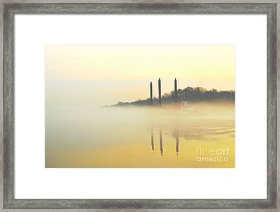 Whispers In The Wind - Contemporary Art Framed Print