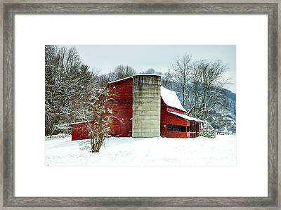 Whispers Of Winter Wonder Framed Print