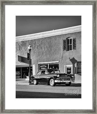 Whistle Stop Antiques Framed Print by Dennis Hedberg