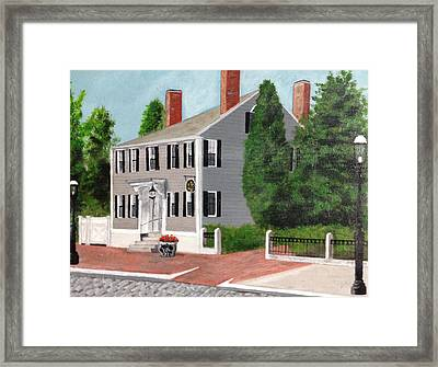 Whistler House Framed Print