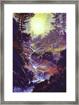 Whistler Mountain Creek Framed Print